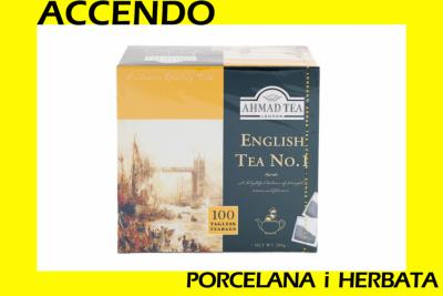 HERBATA AHMAD 100 tor. ENGLISH TEA No.1 OKAZJA !