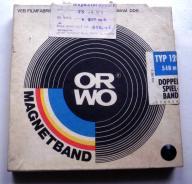 Taśma magnetofonowa TONSIL w pudełku ORWO - NOWA ?