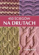 450 ściegów na drutach