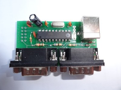 Adapter joysticków Amiga/C64 na USB