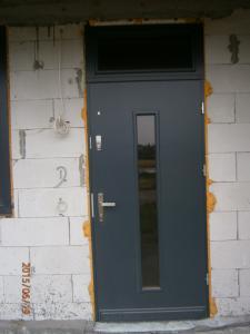 Drewniane Drzwi Antracyt Bialy Zielony Itp 5974872711