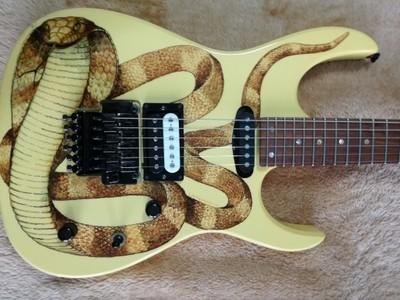 Gitara elektryczna superstrat Witkowski Custom.