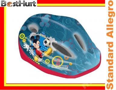 Kask rowerowy Myszka Mickey - Disney  52 - 56 cm