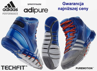 huge selection of 08f30 2faf4 Adidas adiPure CrazyQuick buty do kosza - 42
