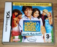 GRA HIGH SCHOOL MUSICAL 2 - NINTENDO DS