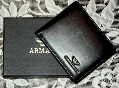 bf18fefee49b6 Portfel męski Giorgio Armani - 6072377763 - oficjalne archiwum allegro