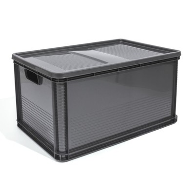pojemnik robusto 64l pokrywa grafit keeeper 6638036741 oficjalne archiwum allegro. Black Bedroom Furniture Sets. Home Design Ideas