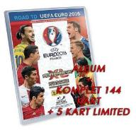 ROAD TO EURO 2016 ALBUM + KOMPLET KART + 5 LIMITED
