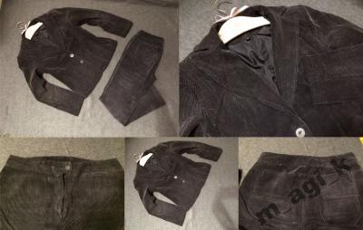 Classic Line Royal Collection sztruks garnitur 38