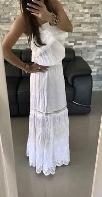 2d503c37a3 Sukienka BY O LA LA długa maxi hiszpanka lato S - 6842949546 ...