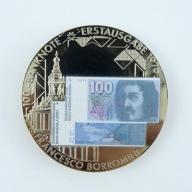 Numizmat - Szwajcaria - 100 Franków -lustro - B227