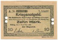 Elbląg - Elbing - 10 Mark - 1918 - RRR