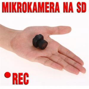 MIKRO kamera zapis SD monitoring AUDIO rejestrator