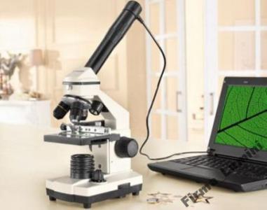 Mikroskop bresser biolux nv z kamerą usb
