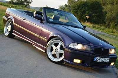 Bmw E36 Cabrio M Pakiet Skora Gwint Violett 18 6891854656 Oficjalne Archiwum Allegro