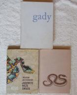 GADY, JADOWITE WĘŻE ŚWIATA, GADY JADOWITE 3 sztuki