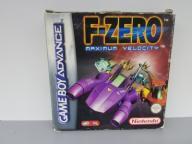 Gra NINTENDO Game Boy ADVANCE F-ZERO