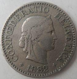 10 Rapenów 1882