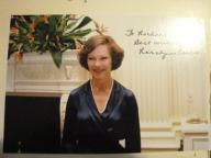 Rosalynn Carter autograf