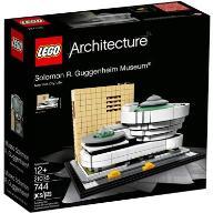 LEGO Architecture 21035 Muzeum Guggenheima - W-wa