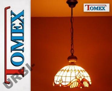 Lampa Wisząca Tiffany Witrażowa 30 Cm Tomex