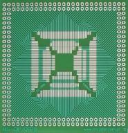 [LISPOL] Adapter uniwersalny QFP52-QFP184