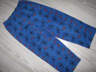 SPIDERMAN GEORGE polarowe spodnie od piżamy 5-6lat