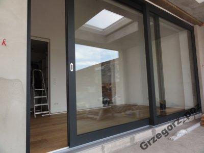 Okna Drzwi Tarasowe Niskoprogowe Przesuwne Hs 6061546363