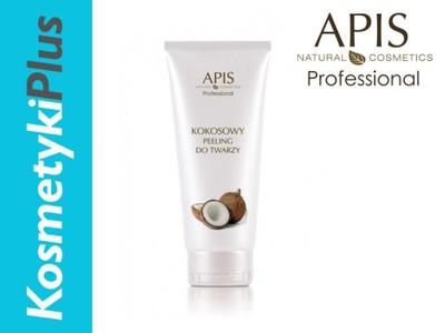 APIS Peeling kokosowy mocno oczyszczający twarz