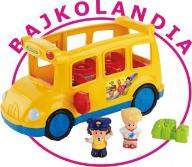 FISHER PRICE LITTLE PEOPLE WESOŁY AUTOBUS CBL55