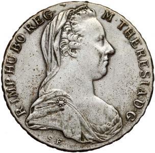 1483. Maria Teresa, Talat 1781 - starsze bicie