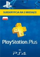 SUBSKRYPCJA PS PLUS 3 MIESIĄCE * PS3 PS4 * SKLEP