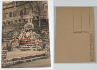 Stara pocztówka - Arlon - Pomnik ku pamięci...