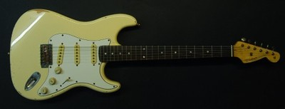 STRATOCASTER - olympic white - RELIC