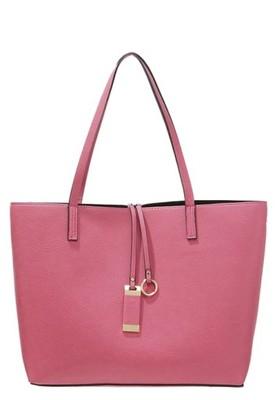AF torebka Shopper Bag Klasyczna Róż Zawieszki