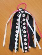 GYMBOREE gumka- kwiatki z USA