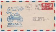 USA - ciekawa koperta z 1947 roku