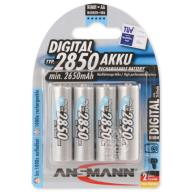 4x Akumulator AA 2850 mAh 1.2V ANSMANN E1B001