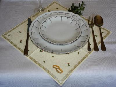 serwetki na stół ślubne - DUŻY WYBOR dobra cena
