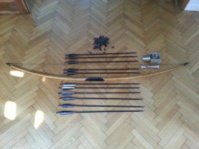 Cisowy Longbow by Andrzej Kluska+dodatki Polecam!!