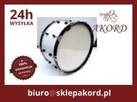 Bęben Marszowy Jurczuk 22''x10'' Senior biały