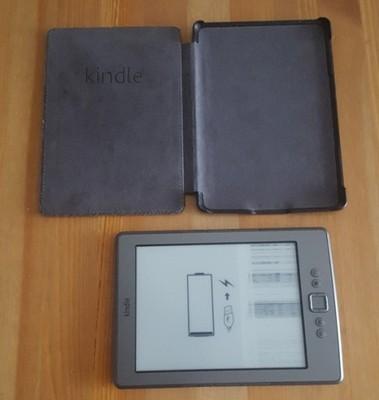 Kindle Clasic - uszkodzony ekran