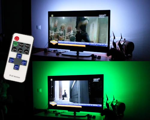 Oświetlenie Led Tv Telewizora 55 Pilot ściemniacz
