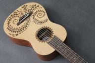 Luna Guitars Ukulele 6-strun. Barytonowe Duże Nowe