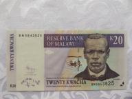 MALAWI 20 KWACHA 2009 r. STAN ( UNC )