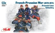 ICM 35061 French-Prussian War 1870-1871 French lin