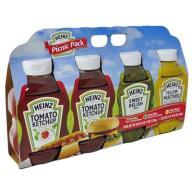 Zestaw Picnic Pack Ketchup Musztarda Relish z USA