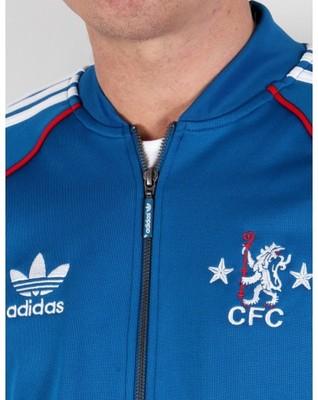 Bluza adidas Originals Chelsea FC Superstar Niebieska