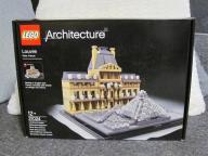 Lego Architecture LOUVRE Super cena!!!!