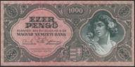 130.WĘGRY - 1000 PENGO - 1945 , st. 3